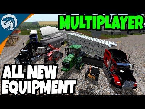 FUEL REFINERY & PIG FARM, NEW EQUIPMENT | Farming Simulator 17 Multiplayer Gameplay