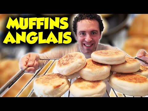 recette-des-muffins-anglais-!!-(-ptit-dèj,-brunch,-burgers...-)