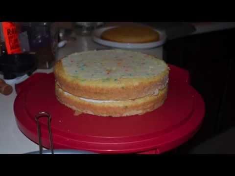 Bake A 4 Layer Birthday Cake