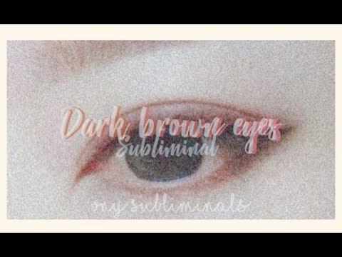 ✬dark brown eyes