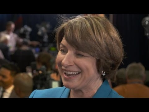Dem. Sen. Amy Klobuchar defends Kaine
