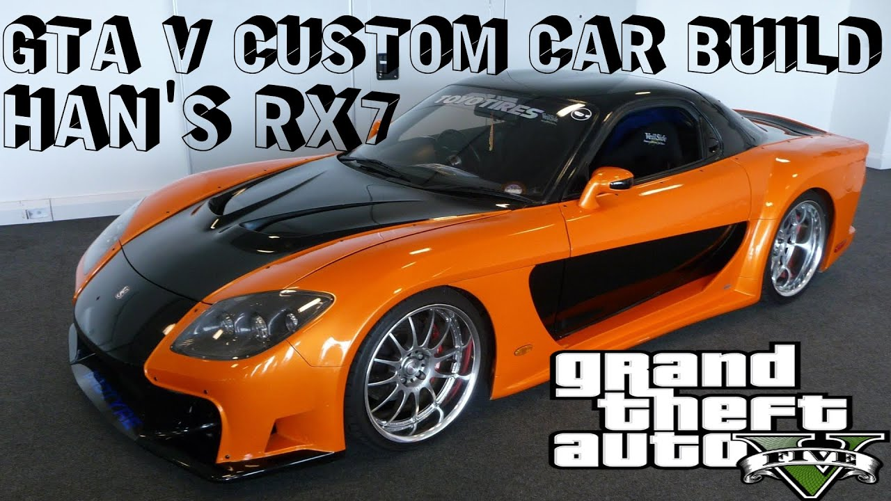 Gta V Fast Furious Tokyo Drift Custom Car Build Han S Car Youtube