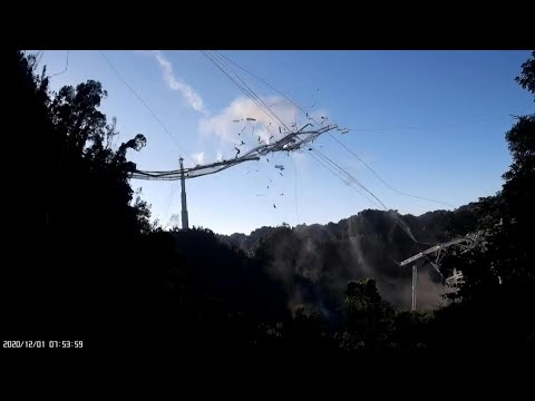 AFP News Agency: Puerto Rico's famed Arecibo telescope collapses | AFP