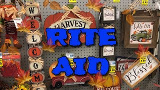 Rite Aid fall decor 2019