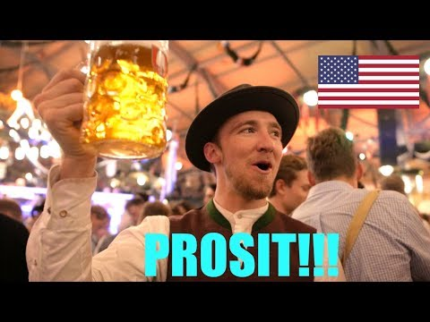 AMERICAN VISITS OKTOBERFEST in MUNICH, GERMANY! | Jägermeister (with @itsConnerSully)