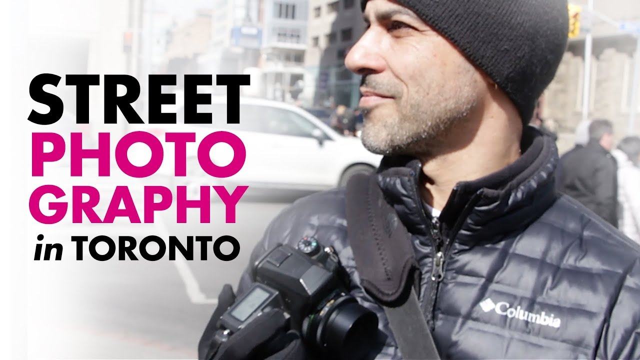 Download STREET PHOTOGRAPHY in TORONTO! Walking the streets with Carmine Groe.