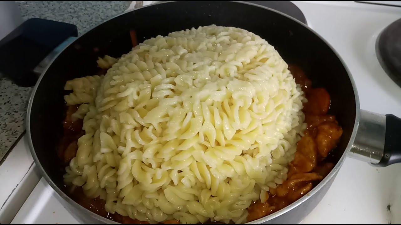 БЕЗ ХЛОПОТ! Потрясно Вкусный и Быстрый обед из макарон и мяса за ЧАС