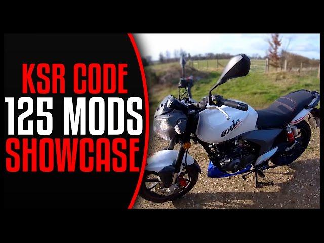 MOTO-VLOG #10 - MY KSR MOTO CODE 125cc MODS SHOWCASE (LEGAL CBT MOTORBIKE)