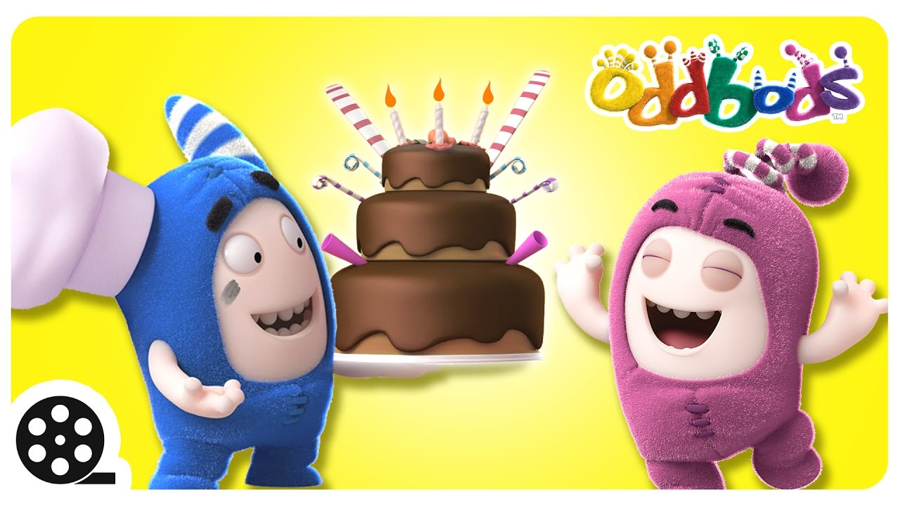 Cartoon | Oddbods' BIRTHDAY BASH | Funny Videos For Children