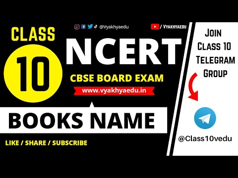 CBSE Class 10 : Important NCERT Books Name 2017-18 CBSE for English & Hindi  Medium