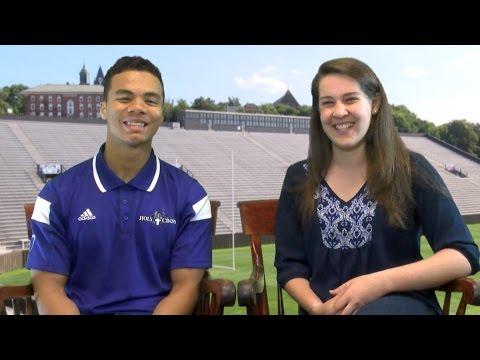 Summer Spotlight: Kalif Raymond (Holy Cross Athletics)