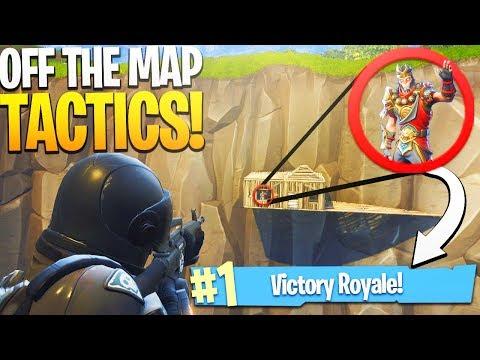 ELITE Off-The-Map Build TACTICS! - PS4 Fortnite Battle Royale Victory Royale!