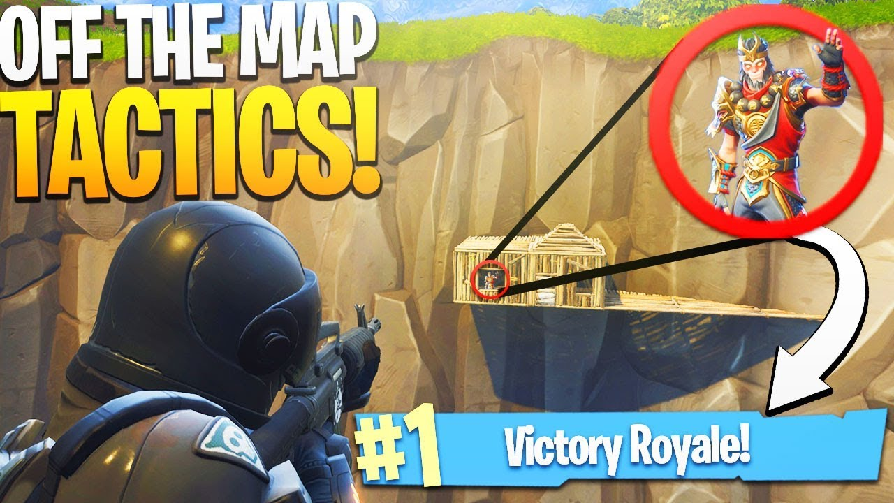 Elite Off The Map Build Tactics Ps Fortnite Battle Royale Victory Royale