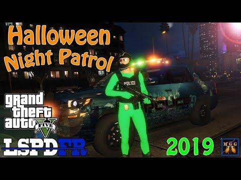Halloween Costume Night Patrol | GTA 5 LSPDFR Episode 427
