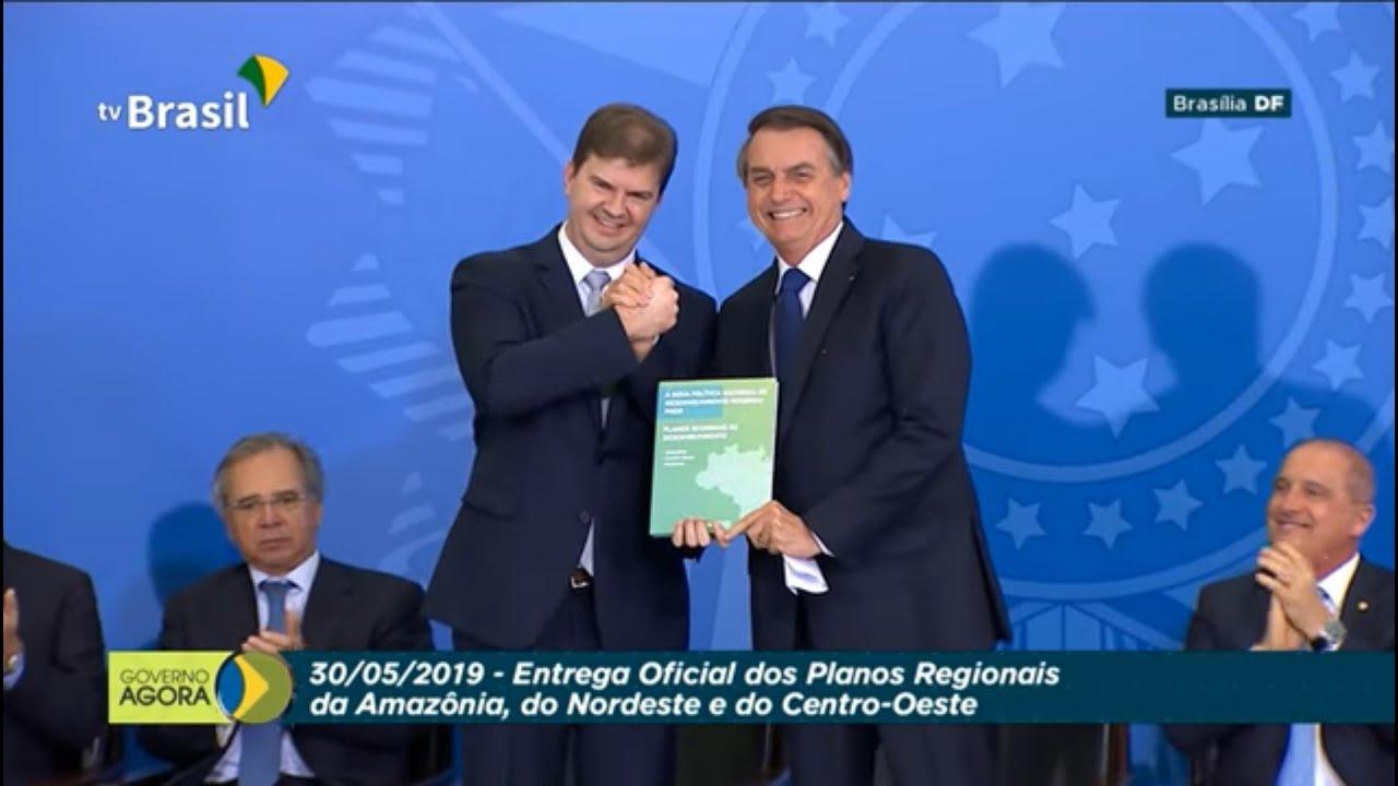 Presidente Jair Bolsonaro assina decreto da Política Nacional de Desenvolvimento Regional