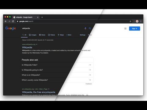 Dark Theme For Google Chrome Web Store