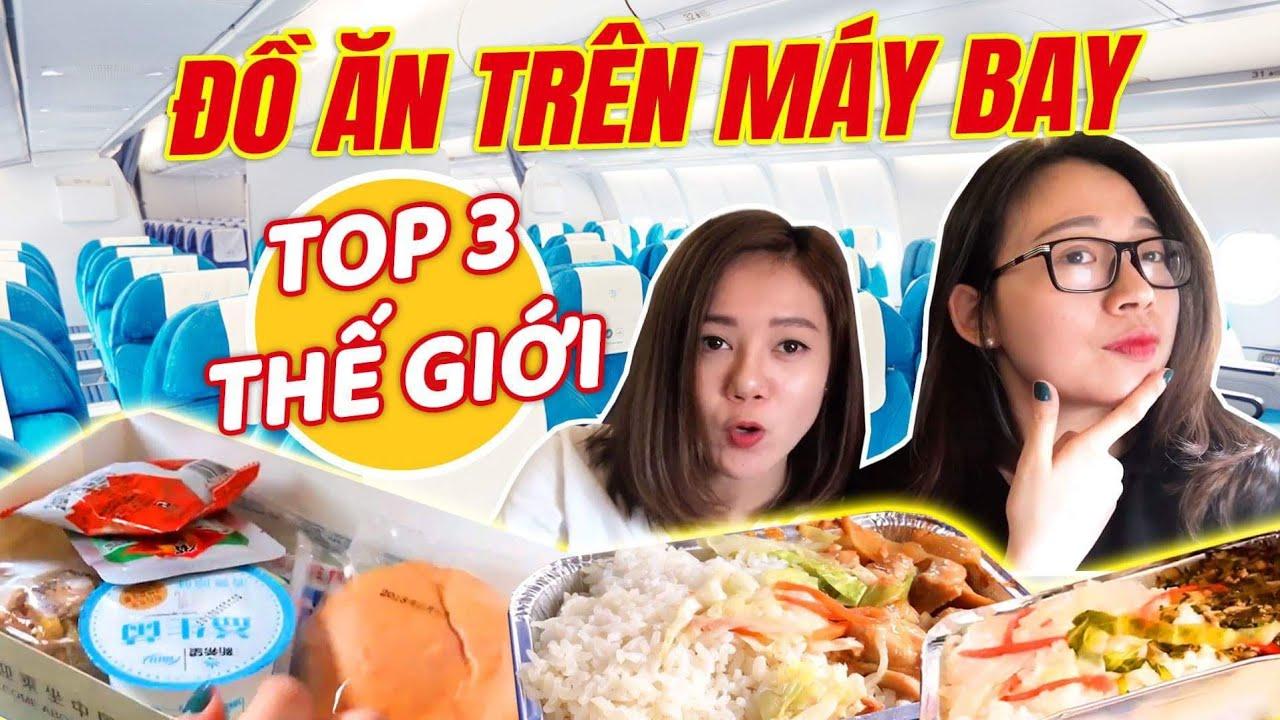 Vlog Hạnh Chee & Hải Yến : Đồ ăn trên máy bay của hãng TOP 3 thế giới có gì ?