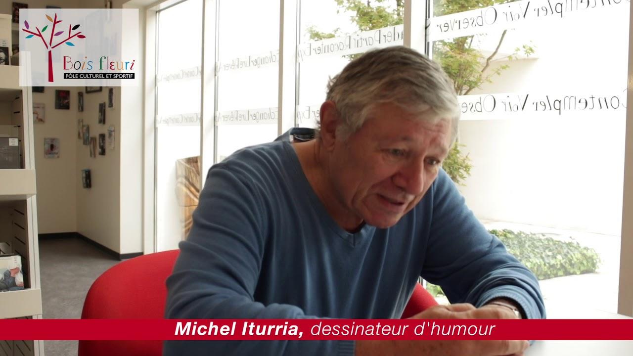 Entretien avec Michel Iturria — Les foulées littéraires 2018 (Lormont)