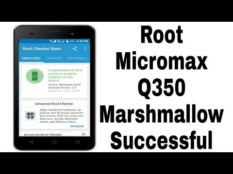 How to root Micromax canvas spark 2 plus [Q350] | Android