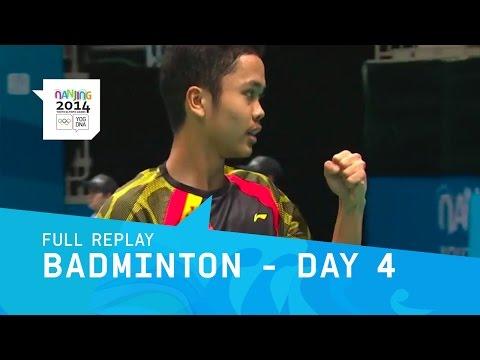 Badminton Quarter Finals | Full Replay | Nanjing 2014 Youth Olympic Games