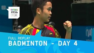 Badminton Quarter Finals | Full Replay | Nanjing 2014 Youth Olympic Games