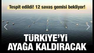 12 ABD Savaş Gemisi Bekliyor..Türkiye Oraya Çöktü Petrole El KOYUYORUZ !