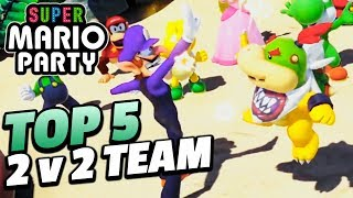 Top 5 Most Fun-Looking 2v2 Minigames in Super Mario Party