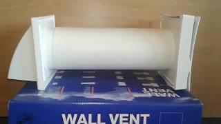 Обзор стенового проветривателя Вентс ПС 102 (wall vent Vents PS 102)