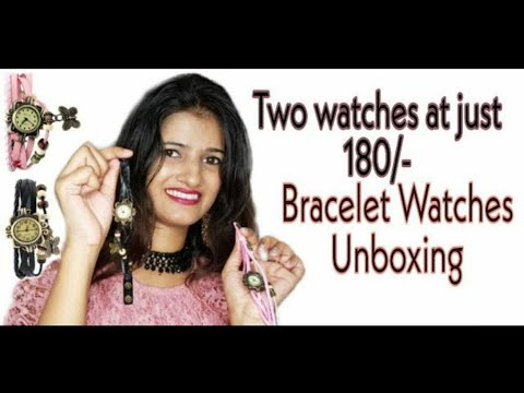 Combo Bracelet Watch For Girls Review At Just 180/-    Affordable Watch    Mansi-Loves-Fashion