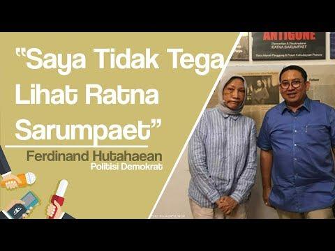 Ratna Sarumpaet Babak Belur, Fadli Zon Sudah Menemui, Ferdinand Hutahaean Tak Tega Melihat
