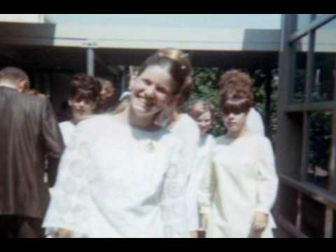 1968 8th Grade Graduation from Martha Baldwin Elementary School