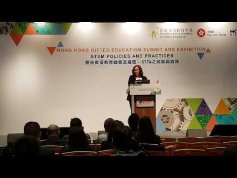 High School Science Education in Israel - Gilmor Keshet in Hong Kong STEM education Summit