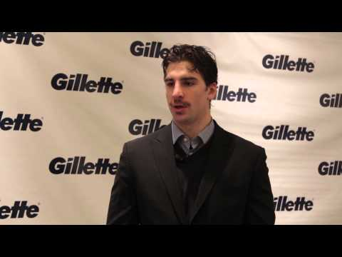 Hockey star John Tavares teams with Gillette to help Canada put its 2014 Olympic 'Game Face'