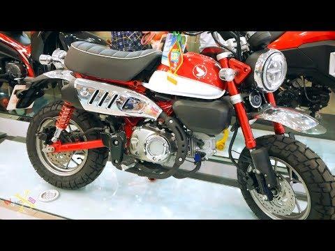 Honda Monkey 125i 2019 Red - ?? Tr?ng - Walkaround