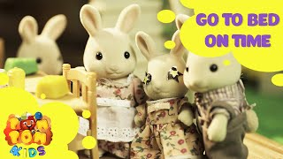 kids cartoon 2016   rabbit story   episode 10 go to bed on time   pompom4kids