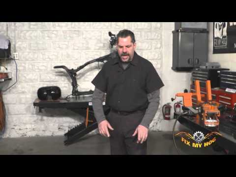 Black Widow Motorcycle Lift Video Review