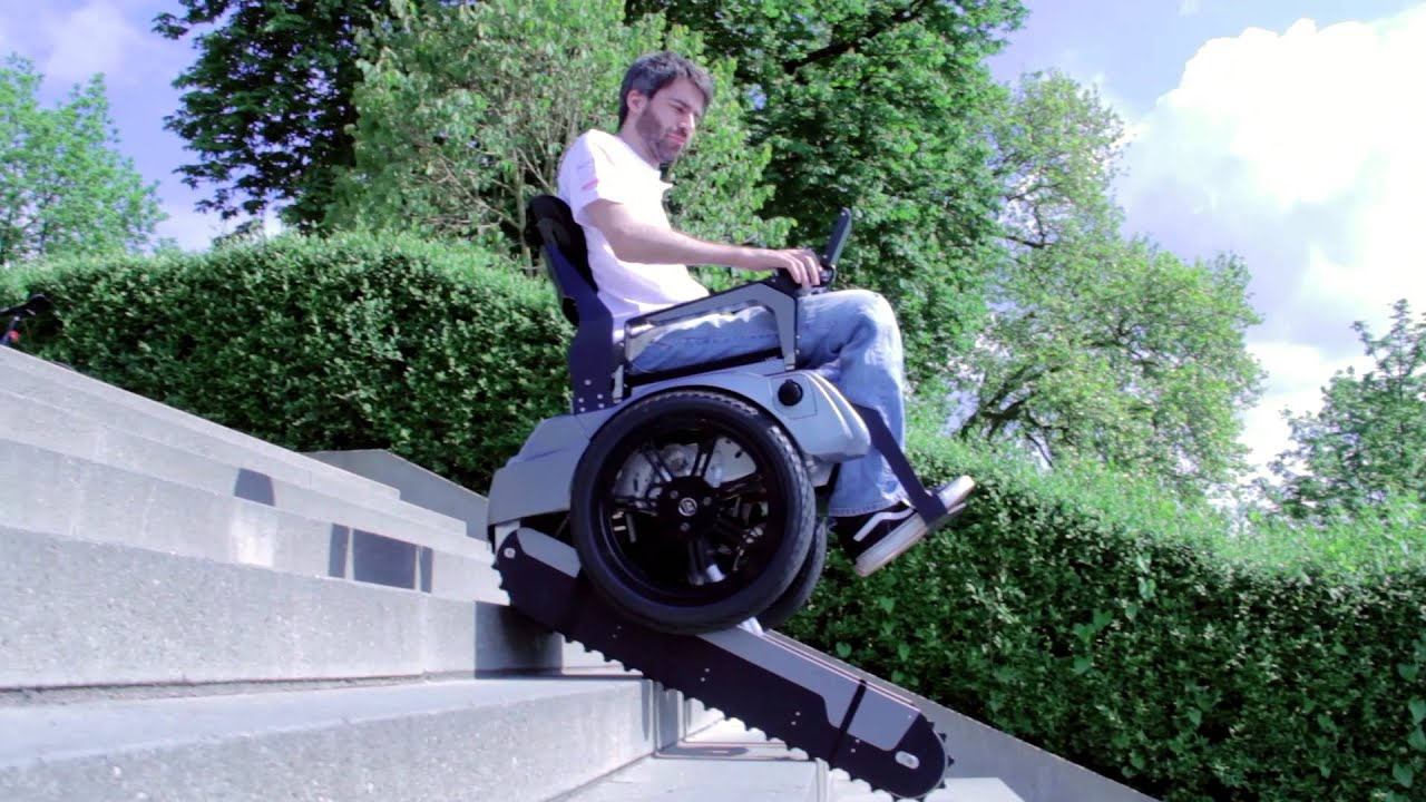 Scalevo The Stairclimbing Wheelchair Eth Zurich Youtube