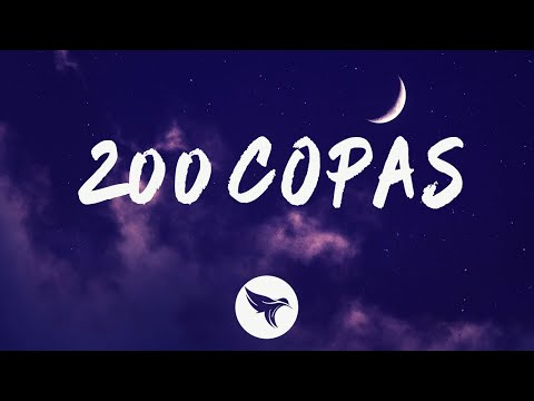 KAROL G – 200 COPAS (Letra/Lyrics)
