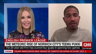 The Meteoric Rise Of Norwich City's Teemu Pukki