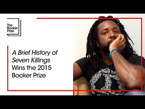 Man Booker Prize 2015 Winner Ceremony