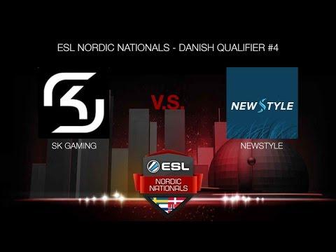 SK Gaming vs. NewStyle (ESL NORDIC NATIONALS - DANISH QUALIFIER #4)