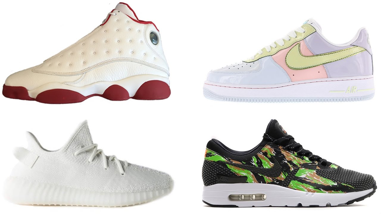 info for abbca 0d792 Air Jordan 13 HISTORY OF FLIGHT, AF1 Easter, ATMOS Air Max Zero and More