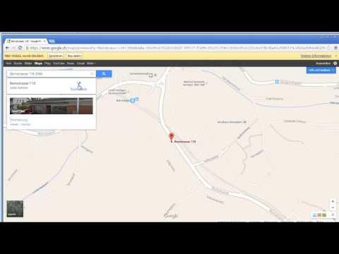a-office - Der Lageplan zu einer gewünschten Adresse - SOFT GmbH HD