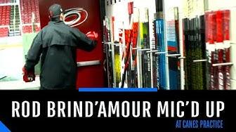Mic'd Up: Rod Brind'Amour runs Carolina Hurricanes practice