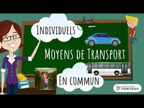 GEO 1 CM2 - Se déplacer au quotidien en France
