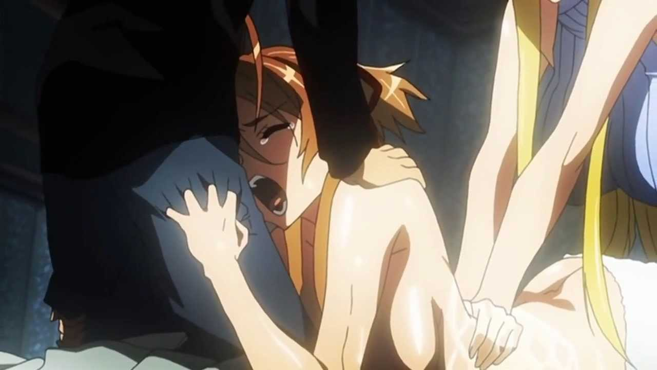 Highschool of the dead nude scenes