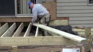 Sun-porch and Deck project, week 2