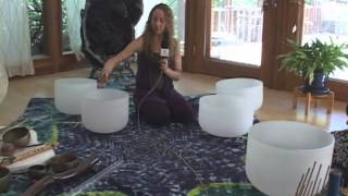 Sound Therapy Healing (Crystal Didgeridoo, Crystal Bowls) with Kimba Arem on Healing Conversations