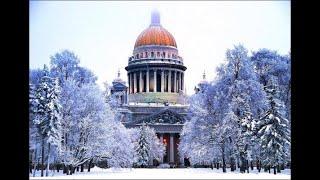 Смотреть видео Прекрасная Новогодняя Музыка 2020 г.для поднятия настроения.Новогодняя Елка в Санкт-Петербурге онлайн