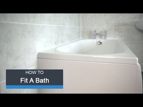 Wickes How to Fit a Bath
